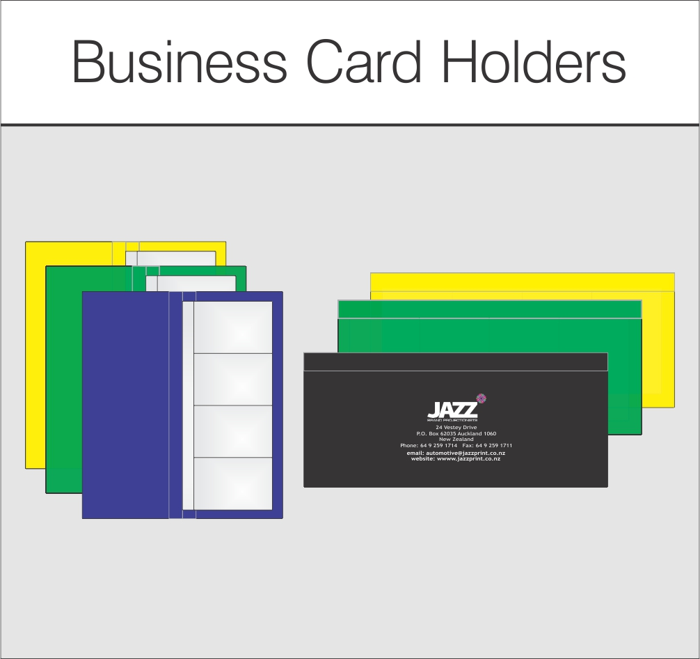 Business Card Holders- Personalised