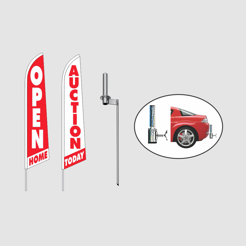 Flags, Poles & Accessories