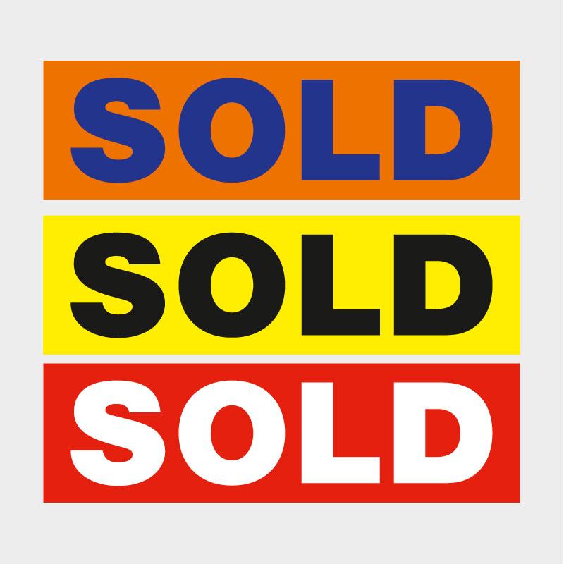 Sold Decals