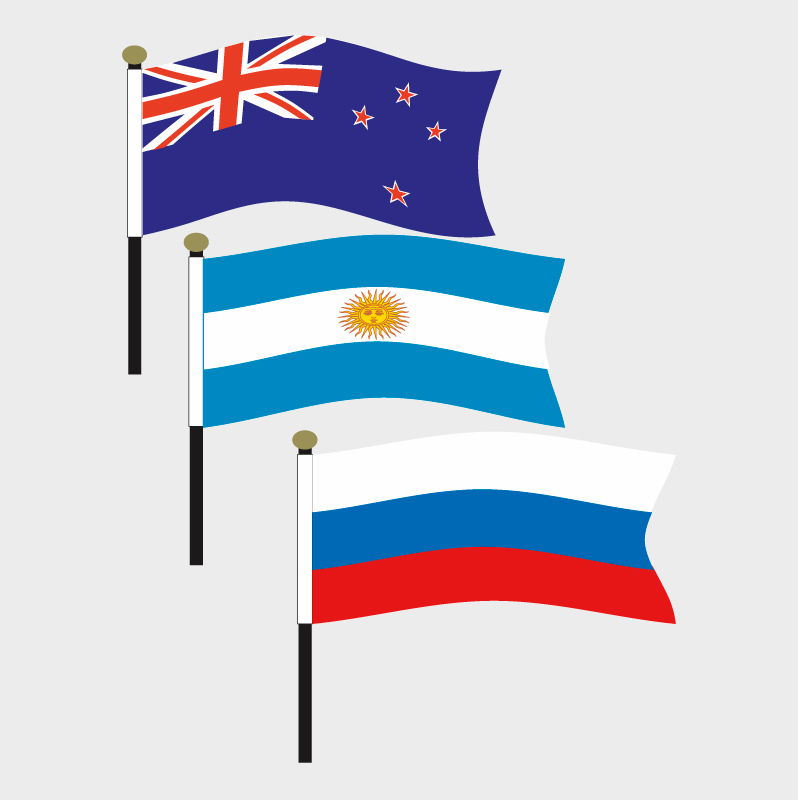 FC500 Country Flags